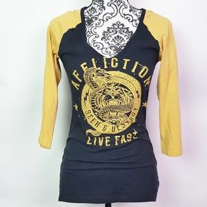 AFFLICTION  Live Fast Distressed